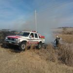 Incendios en el distrito San Javier