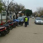 5 MOTOS RETENIDAS EN OPERATIVOS