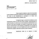 nota ministro Contigiani