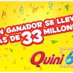 un ganador 33 millones - quini