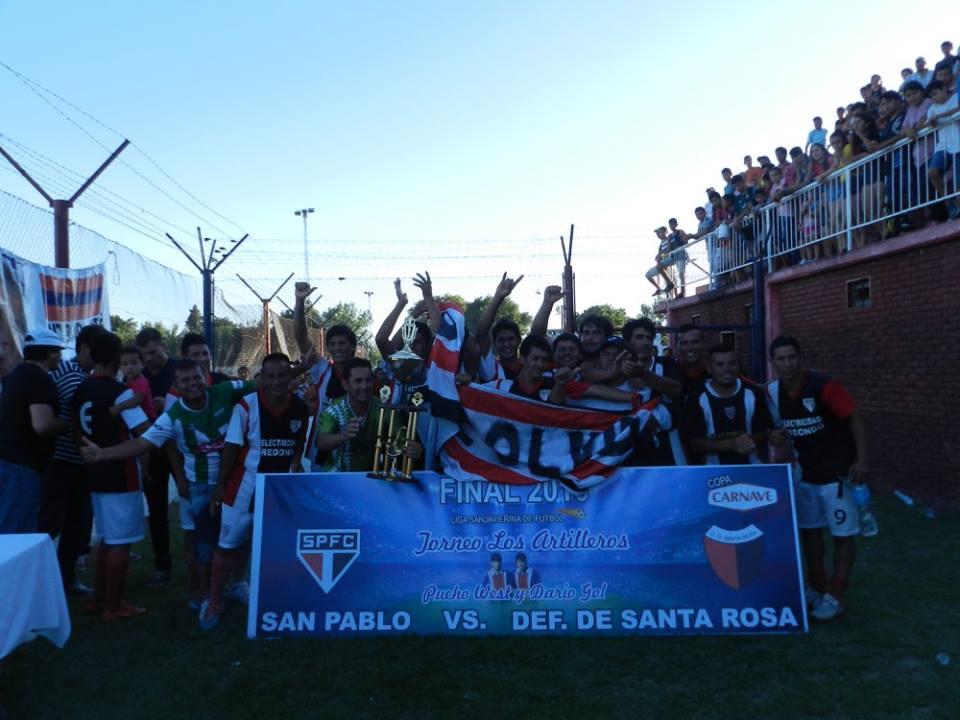 San pablo campe n de la liga sanjavierina de f tbol 2016 for Angel motors santa rosa ca