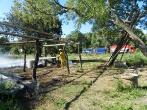 Incendio Tecrería 08 - 11 - 18